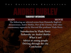 Tarkovsky interviews